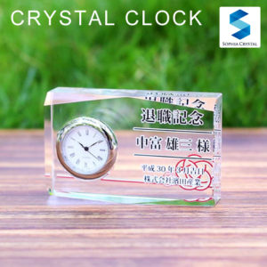 クリスタル置き時計DT-1