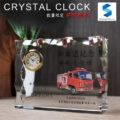 クリスタル置き時計NG-1