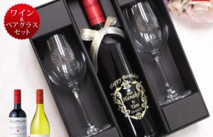 赤ワインとグラスセットbal-set-s10